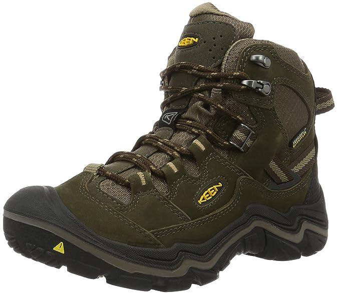 Keen Damen Durand Mid Trekking-& Wanderstiefel, Braun (Cascade Brown/Shitake), 36 EU