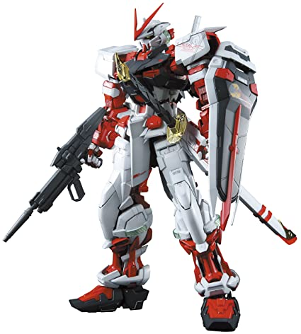 c74239f592cd Amazon.com  Bandai Hobby Gundam Seed Astray Red Frame 1 60 Perfect Grade  Model Kit  Toys   Games