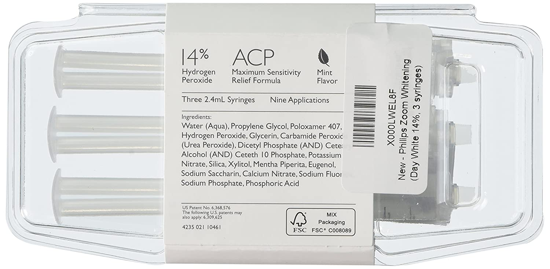 Amazon Com Philips Zoom Day White 14 3 Syringes Industrial Scientific