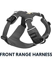 RUFFWEAR - Front Range, Everyday No Pull Dog Harness with Front Clip, Trail Running, Walking, Hiking, All-Day Wear, Twilight Grey, Small