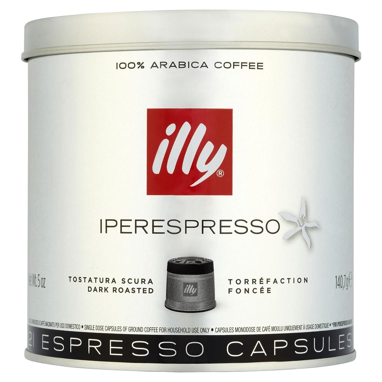illy Dark Roast Iperespresso Coffee 21 Capsules (Pack of 2, Total 42 Capsules): Amazon.com: Grocery & Gourmet Food