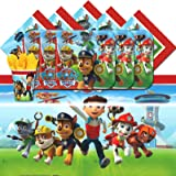 amscan Paw Patrol Puppy Pet Children Birthday Complete Party Tableware Pack for 16