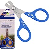 Cat Nail Clippers - Safe and Easy to Use Professional Stainless Steel Pet Claw Cutter