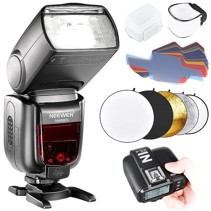 1 opinioni per Neewer Kit di TTL Flash per Reflex Digitali Sony Wireless GN60 2.4G HSS