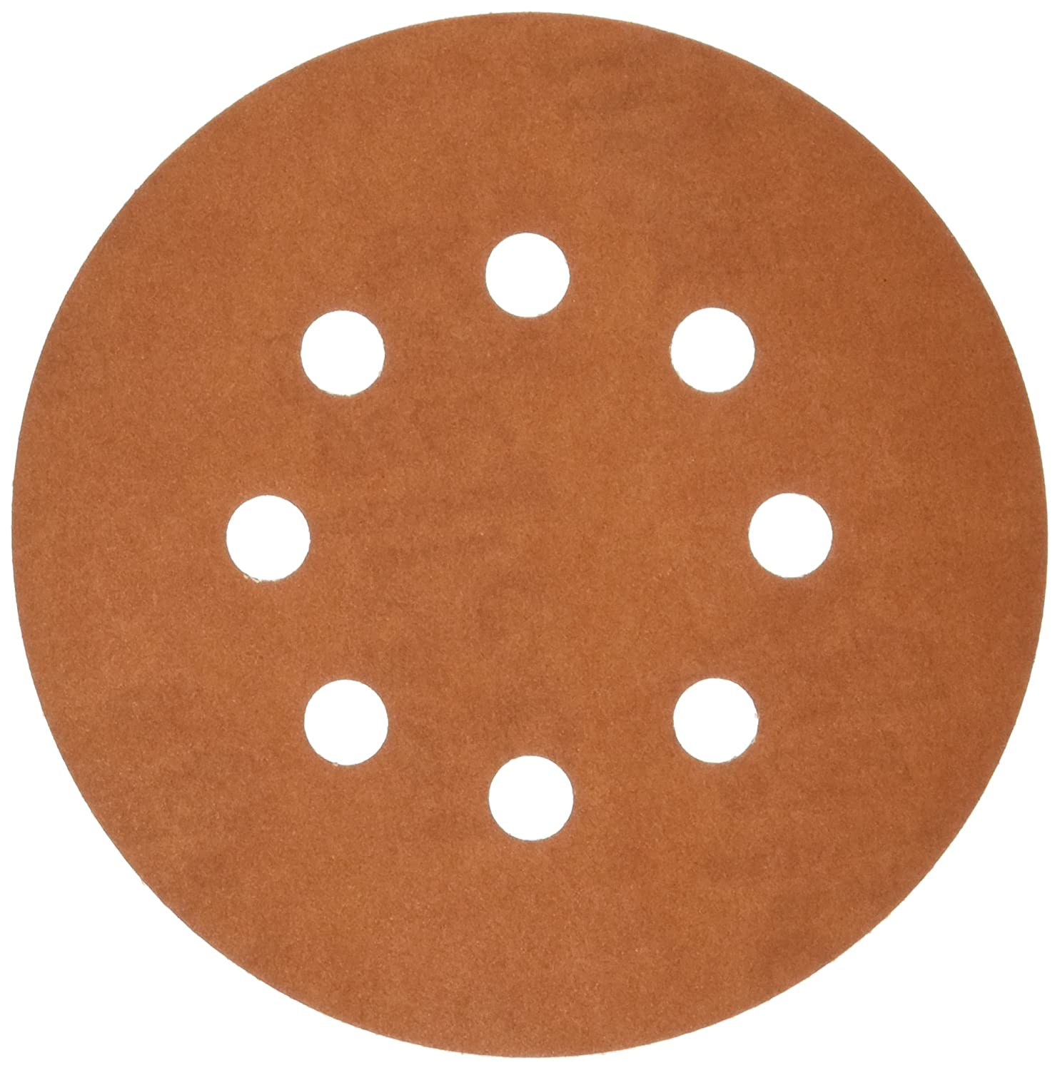 5-Inch ALI INDUSTRIES 3720 8 Hole Hook and Ladder 320 25 CT Grit Disc 5-Pack