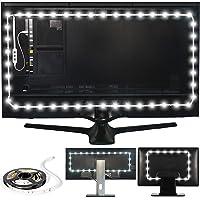 Power Practical Luminoodle Bias Lighting TV Backlight Strip - 6000K USB Powered LED Ambient Light to Reduce Eye Strain…