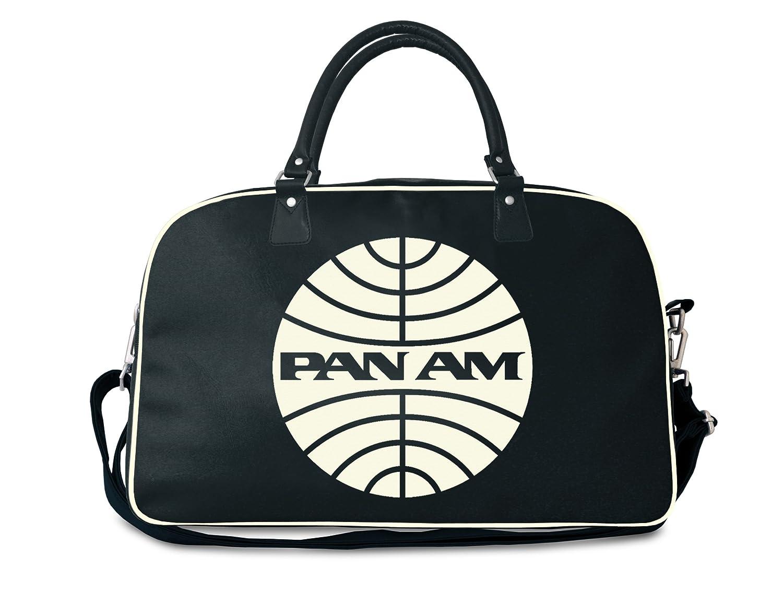 Logoshirt Unisex-Adult Pan AM 48 Hours Fake Messenger Bag Deep Navy 135-0516-082