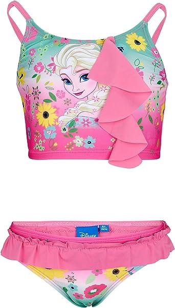Disney Reine des neiges Fille Bikini Fushia