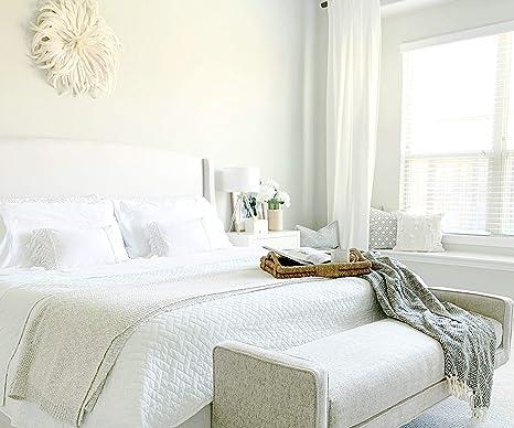 50 x 60 cm Leinen Baumwolle All Cotton and Linen Tagesdecke Waffle Throw, Waffelmuster Natural Baumwolle und Leinen 108x90
