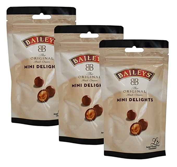 Baileys The Original Irish Cream Mini Delicias - Trufas de chocolate con leche 102G x 3