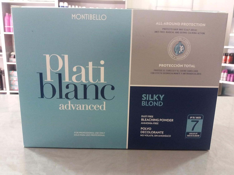 Decoloración montibello platiblanc siky blond 7 tonos 24x30gr ...