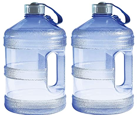 4e2ab761be Image Unavailable. Image not available for. Color: New Wave Enviro BpA Free 1  Gallon Water Bottle (Round) ...