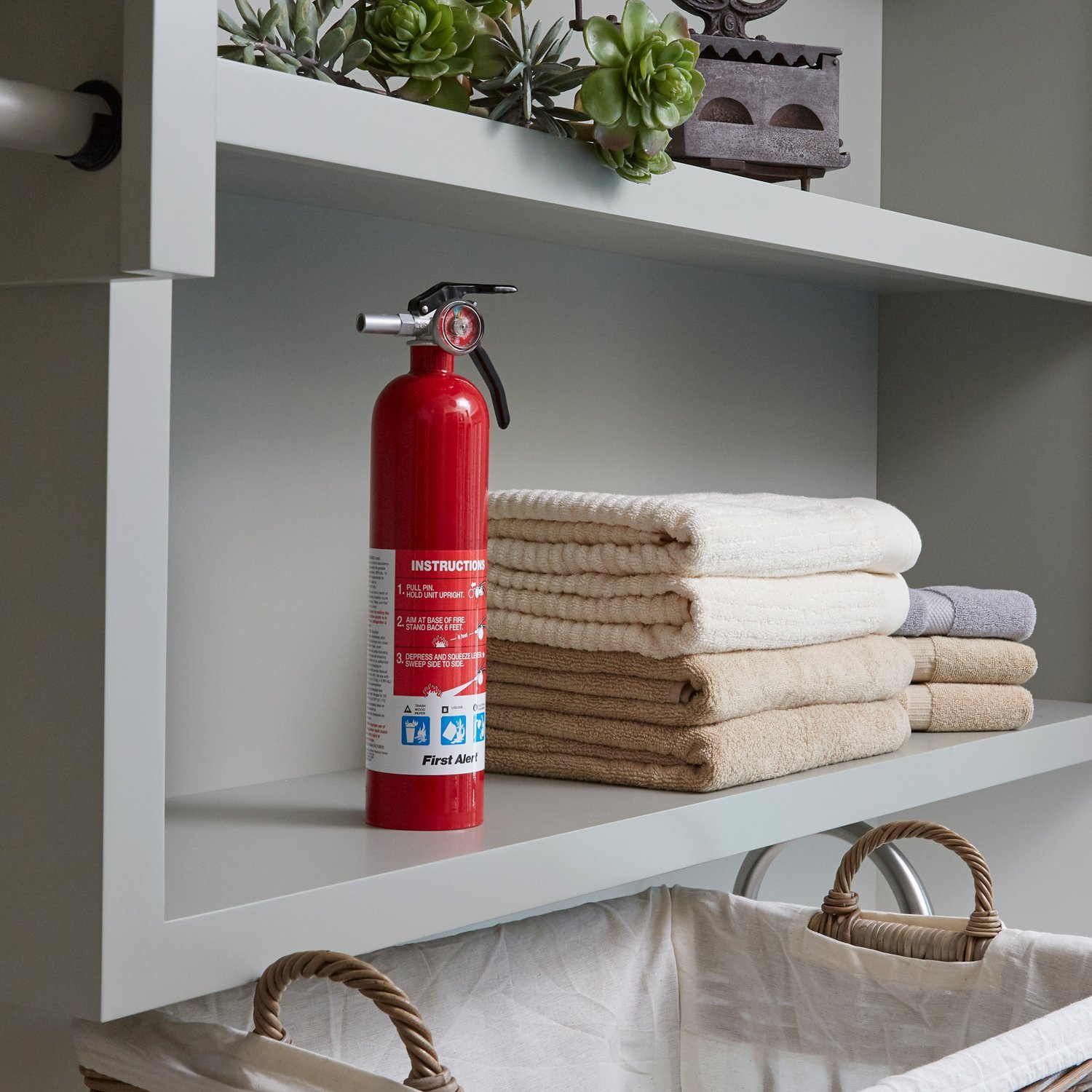 First Alert Rechargable Standard Home Fire Extinguisher (Pack of 2) by First Alert (Image #3)