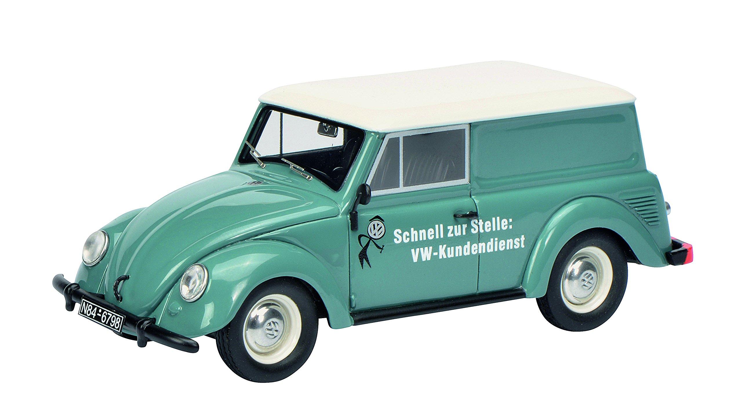Schuco 450900900 ''VW Beetle Kombi Model Car, Blue, 1:43 Scale