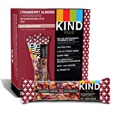 Kind Bars, Cranberry Almond Plus Antioxidants with Macadamia Nuts, Gluten Free, Low Sugar, 1.4oz