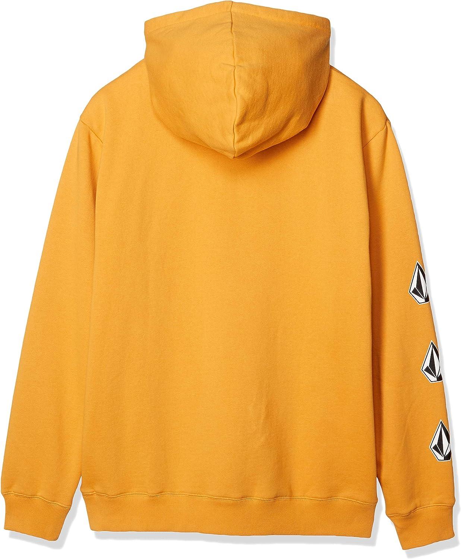 Volcom Mens Deadly Stones 2 Pullover Hooded Fleece Sweatshirt