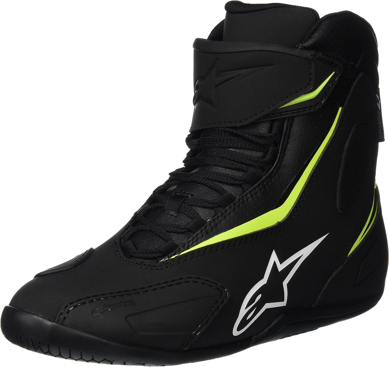 8 Alpinestars Fastback 2 Drystar motorcycle boots black