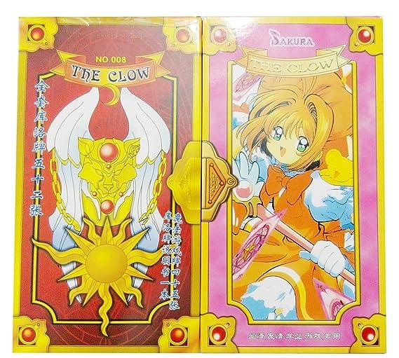NuoYa005 Popular 2 Pairs CardCaptor Sakura Kros brand Card ...
