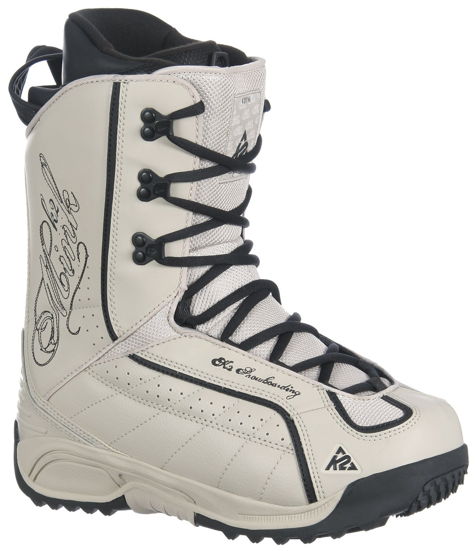 K2 Mink Snowboard Boots Pearl Women's Sz 5