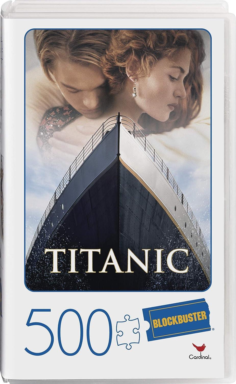 Blockbuster Alien 500 Pc Jigsaw Puzzle ~ Blockbuster Movie Puzzles Alien Jigsaw Puzzle 500 Piece Bundle with Movie Bookmark