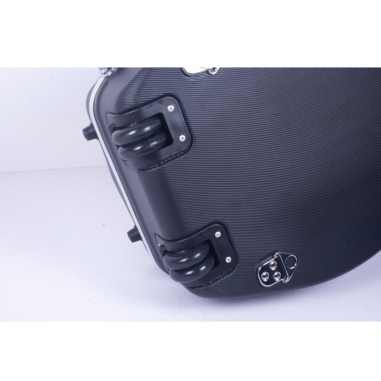 Funda r/ígida de violonchelo ABS moldeado con ruedas Crossrock