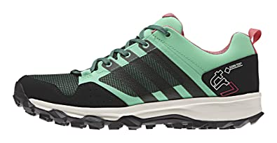 adidas Damen Kanadia 7 TR GTX Traillaufschuhe, Grün (Green Glow S16/Blanch Green S16-St/Super Blush S16), 38 EU
