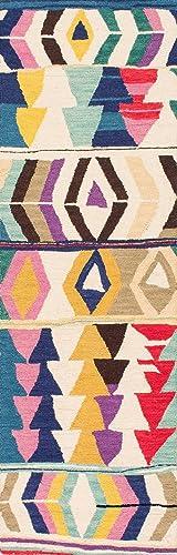 nuLOOM Ofelia Hand Tufted Wool Runner Rug, 2 6 x 8 , Multi