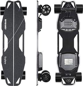 Spadger Electric Skateboard D5X Plus 35'' Electric Longboard