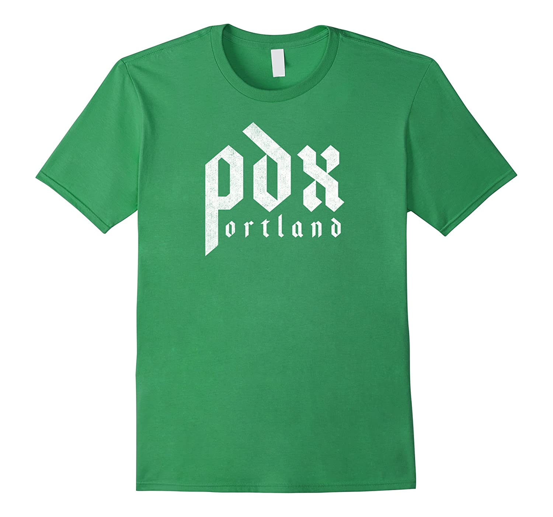 Pdx Portland Oregon Custom Distressed Mens Womens Tshirt Th Teehelen