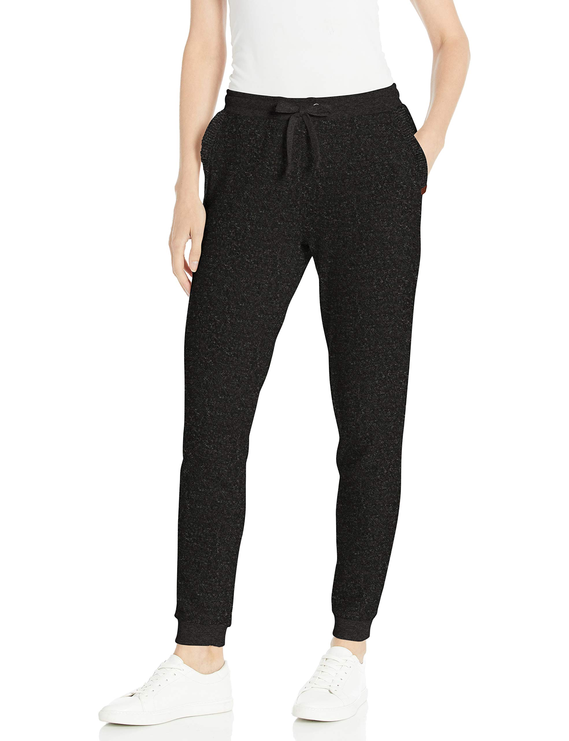 Rip Curl Junior's Cosy Track Pants, Black Heather, L by Rip Curl