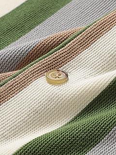 Stripe Cardigan 11-15-1327-048: Green