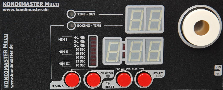 Intervall Timer KondiMaster MULTI mit frei programmierbaren Zeiten - NEU NEU NEU !! Personal Trainer