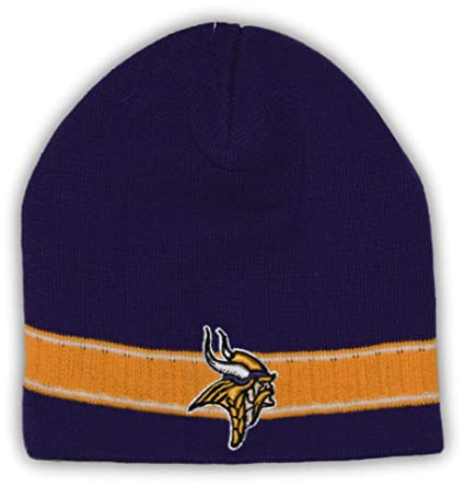 e936dcd3e22 Image Unavailable. Image not available for. Color  Fan Apparel Minnesota  Vikings Yellow Ribbed Uncuffed Beanie Hat Toque