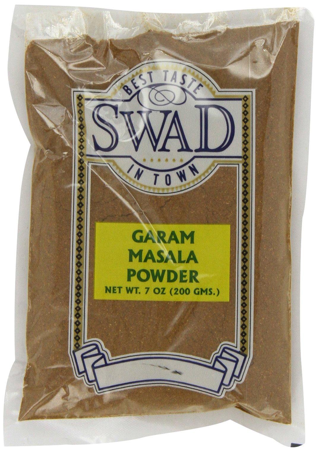 Swad Garam Masala, 7-Ounce (Pack of 6) by Swad
