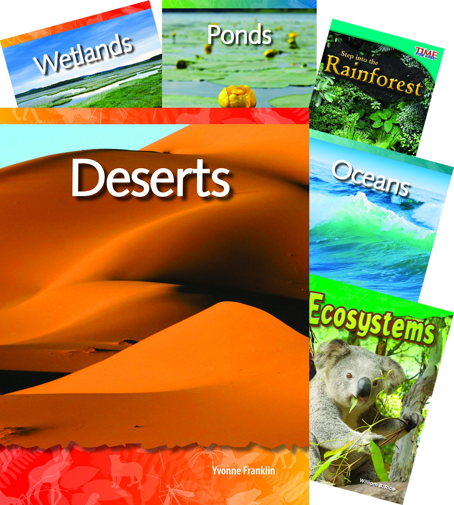 Biomes and Habitats 10-Book Set (Language Arts)