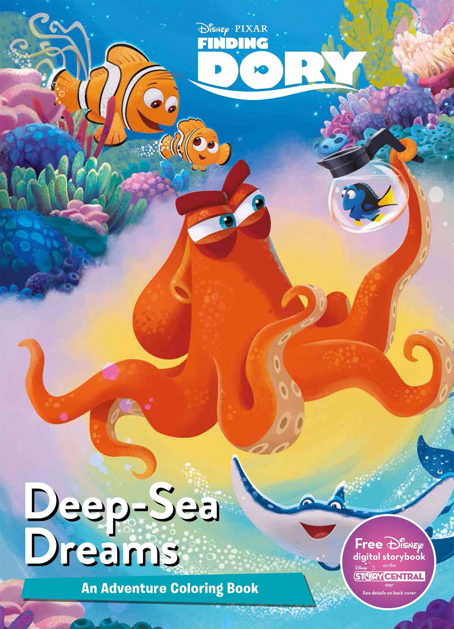 Disney Pixar Finding Dory Mega Coloring: Parragon Books Ltd ...