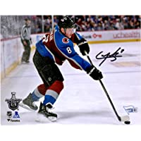 """$47 » Cale Makar Colorado Avalanche Autographed 8"""" x 10"""" NHL Debut Skating Photograph - Fanatics Authentic Certified"""