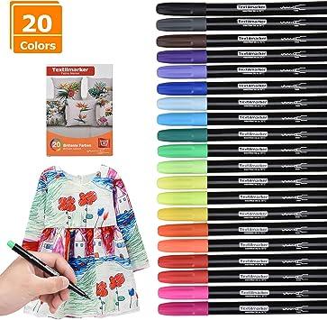 9 x Bower Fabric Pens