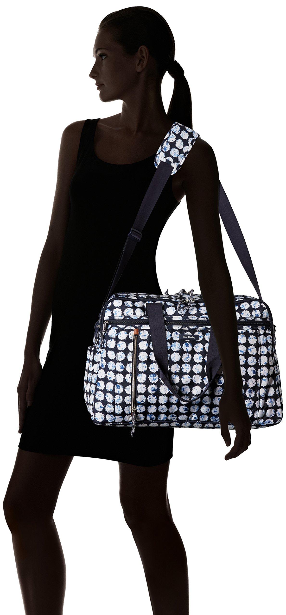 Vera Bradley Lighten up Weekender Travel Bag, Polyester, Splash Dot by Vera Bradley (Image #6)