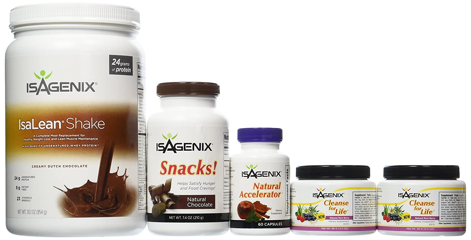 Amazon.com: Isagenix 9 Day Deep Fat Burning and Cleanse System ...