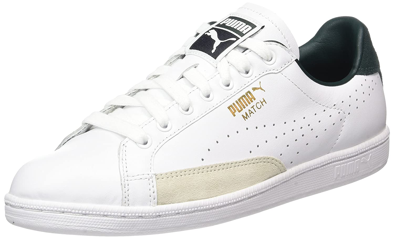 Puma Unisex-Erwachsene Match 74 UPC Sneaker  43 EU|Wei? (White-green Gables)