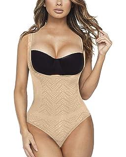 Amazon.com: MISS MOLY Body moldeador de pecho abierto sin ...