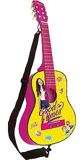 Soy Luna Disney Guitarra Clásica De 6 Cuerdas, 78 cm Largo, Material de Madera (Lexibook…