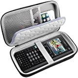 PAIYULE Travel Case for Texas Instruments Ti Nspire CX CAS II Ti-84 Plus CE Graphing Calculator, Large Capacity for Pens, Cab