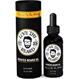 Love Thy Beard Scented Beard Oil - 1oz Eau de Barbe Inspired By Paco Rabanne One Million - Natural & Organic Oils For Mustache and Beard Growth & Conditioning