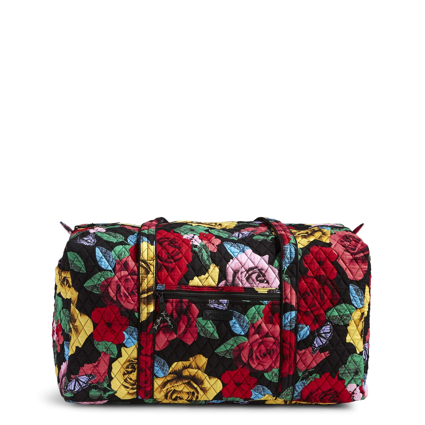 Women's Large Duffel, Signature Cotton, Havana Rose