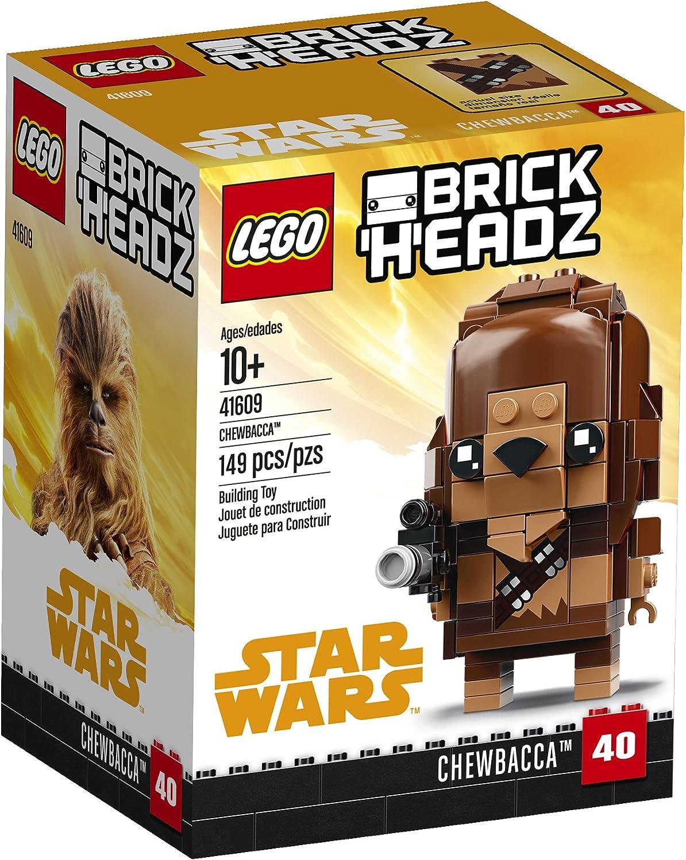 LEGO BrickHeadz Chewbacca 41609 Building Kit (149 Piece)