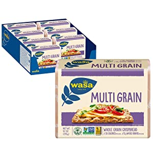 Wasa Multi Grain Crispbread, 9.7 Ounce (Pack of 8)