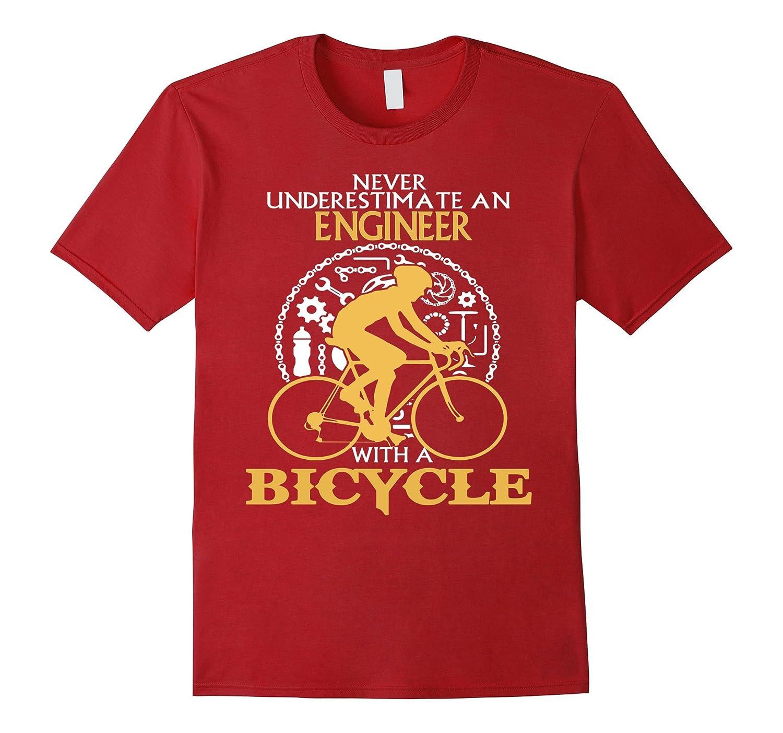 Engineer Bicycle Tshirt Medium Asphalt-Tovacu