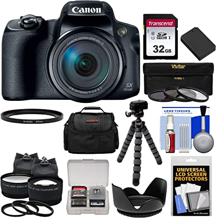 Canon Powershot Sx70 Hs 4k Wi Fi Digitalkamera Mit 32 Kamera